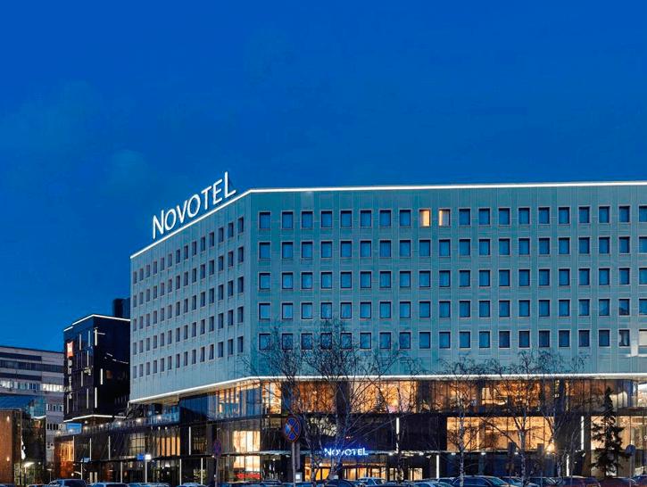 <strong>Отель «Novotel»</strong><br> г. Красноярск
